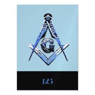 Masonic Minds (Blue) Magnetic Card