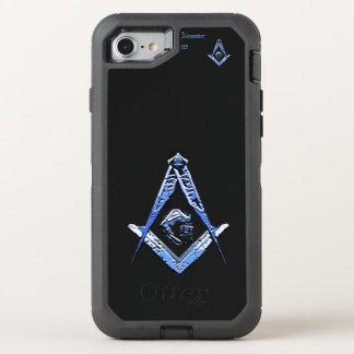 Masonic Minds (Blue) OtterBox Defender iPhone 8/7 Case