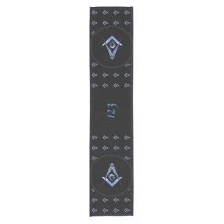 Masonic Minds (Blue) Short Table Runner