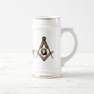 Masonic Minds (Golden) Beer Stein