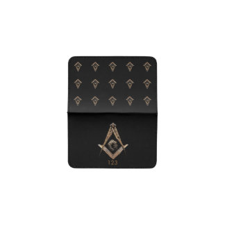 Masonic business card holders cases zazzle for Masonic business card holder