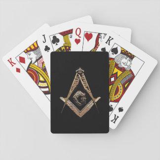 Masonic Minds (Golden) Deck Of Cards