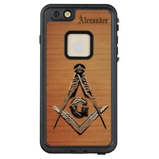 Masonic Minds (Golden) LifeProof FRĒ iPhone 6/6s Plus Case