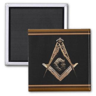 Masonic Minds (Golden) Magnet