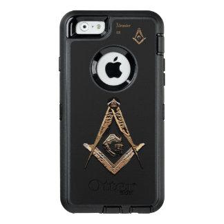 Masonic Minds (Golden) OtterBox Defender iPhone Case