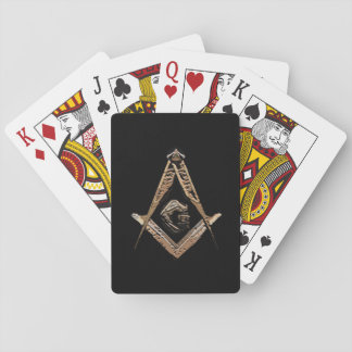 Masonic Minds (Golden) Playing Cards
