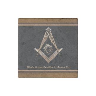 Masonic Minds (Golden) Stone Magnet