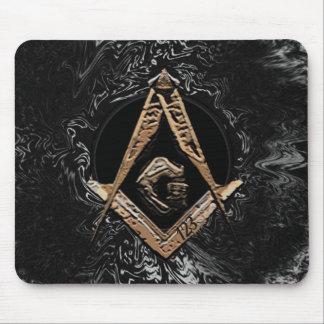 Masonic Minds (GoldenSwish) Mouse Pad