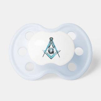 Masonic Minds (Light Blue) Pacifier