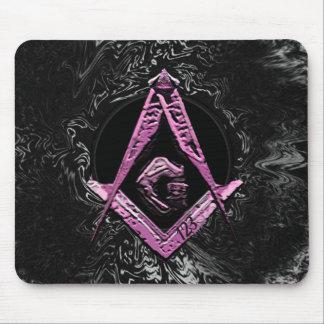 Masonic Minds (PinkSwish) Mouse Pad