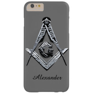 Masonic Minds (Silvery) Barely There iPhone 6 Plus Case
