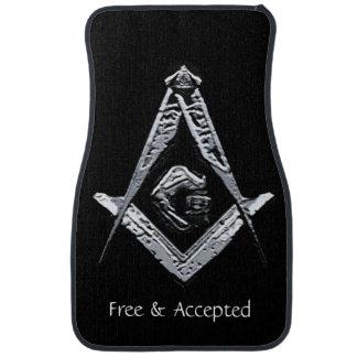 Masonic Minds (Silvery) Car Mat