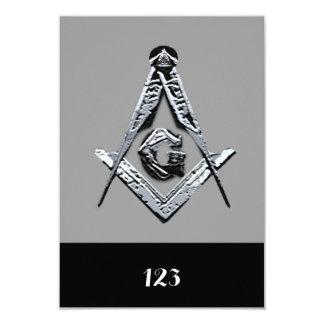 Masonic Minds (Silvery) Card
