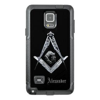 Masonic Minds (Silvery) OtterBox Samsung Note 4 Case