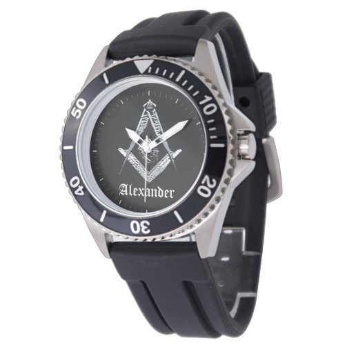 Masonic Minds (Silvery) Watch