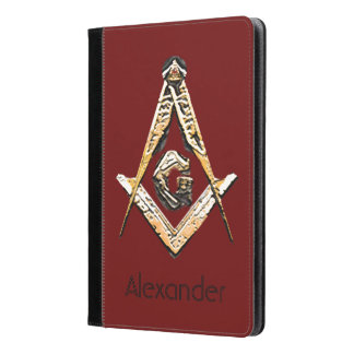 Masonic Minds (Yellowish) iPad Air Case