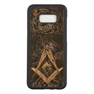 Masonic Minds (YellowSwish) Carved Samsung Galaxy S8+ Case