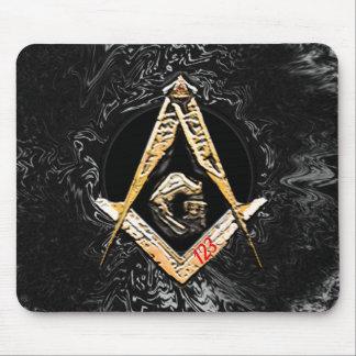 Masonic Minds (Yellowswish) Mouse Pad