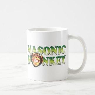 Masonic Monkey Coffee Mug