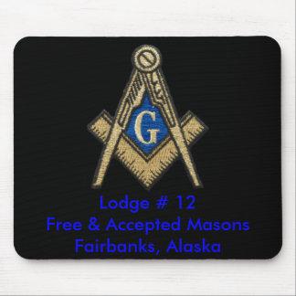 Masonic Mouse Pad