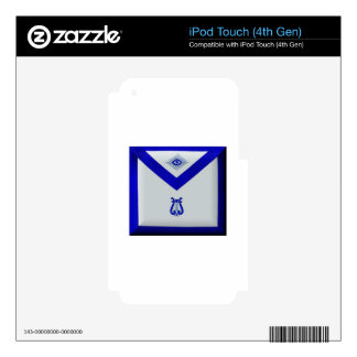 Masonic Organist iPod Touch 4G Decals