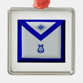 Masonic Organist Metal Ornament