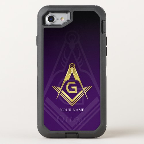 Masonic OtterBox Defender iPhone 8/7 Case Phone Case