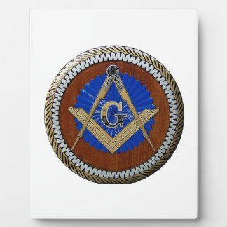 masonic plaque