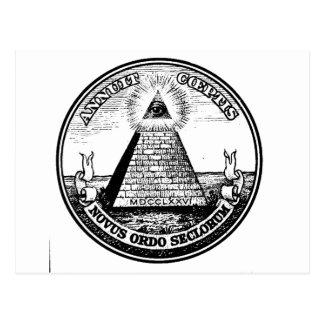 masonic postcard