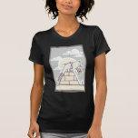 Masonic Pyramid Construction B T-shirts