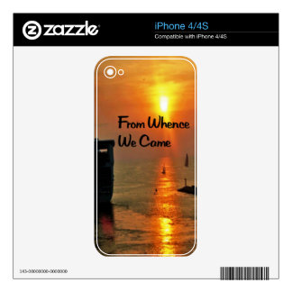 Masonic Quote Skin For The iPhone 4S