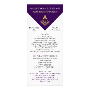 purple gold rack cards zazzle