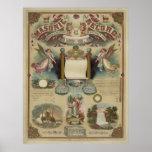 Masonic record [1872] print
