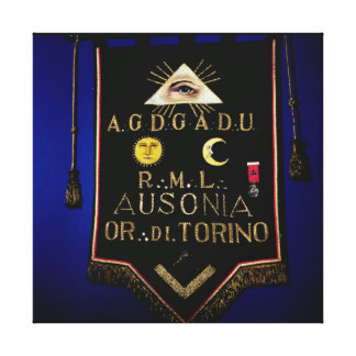 Masonic Regalia, from the Order of Turin Canvas Print