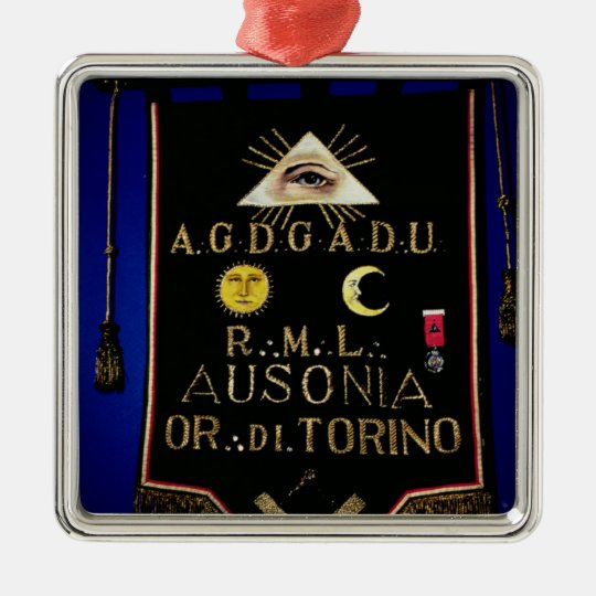 Masonic Regalia, from the Order of Turin Metal Ornament