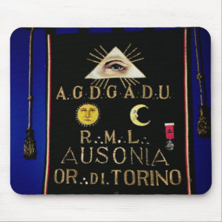 Masonic Regalia, from the Order of Turin Mouse Pads