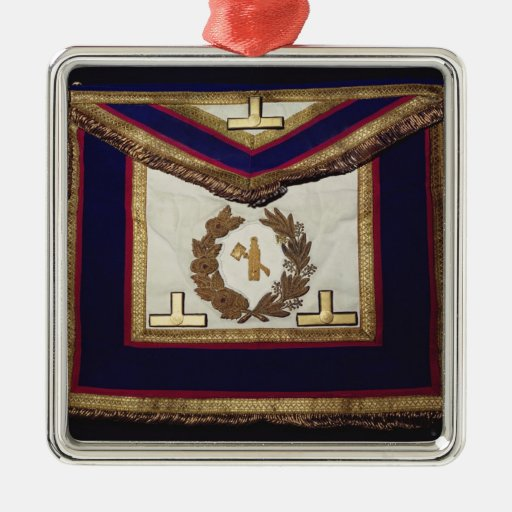 Masonic Regalia, from the Order of Turin Christmas Ornaments