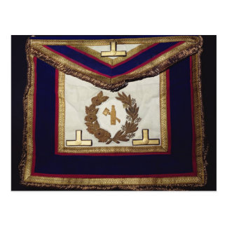 Masonic Regalia, from the Order of Turin Postcard