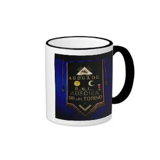 Masonic Regalia, from the Order of Turin Ringer Mug