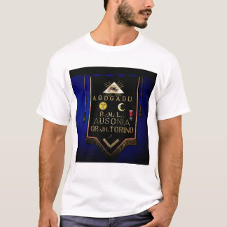 Masonic Regalia, from the Order of Turin T-Shirt