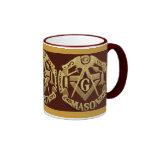 Masonic Ringer Coffee Mug