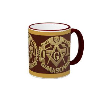 Masonic Ringer Mug
