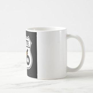 Masonic Route 66 Shield Coffee Mug