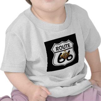Masonic Route 66 Shield T Shirt