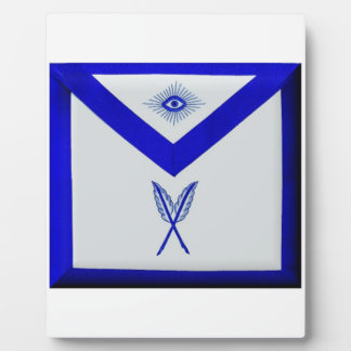 Masonic Secretary Apron Plaque