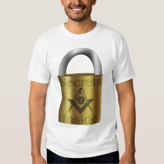 Masonic Secrets Inside T Shirt