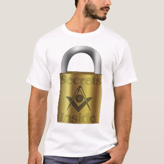 Masonic Secrets Inside T-Shirt