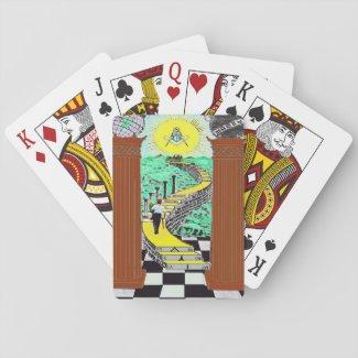 Masonic Shriner playing Cards