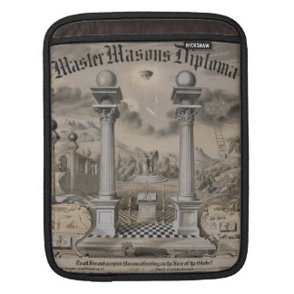 Masonic Significance Sleeve For iPads