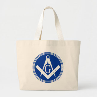 Masonic Square and Compass Canvas Bags